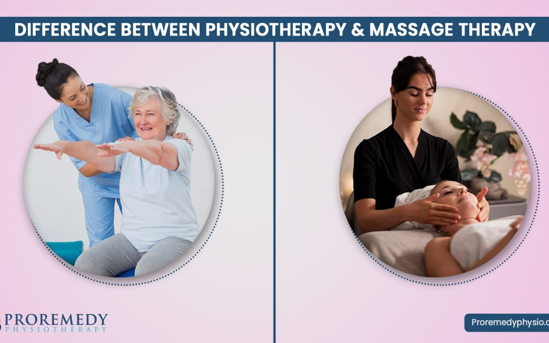 physiotherapy v/s massage therapy